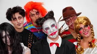 James charles halloween makeups 2020 ft.larray,charli,dixie,noah,chase