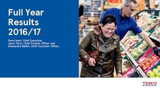 tesco   full year results 2016 2017