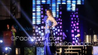 Miss Universe 2012 top 16 all shades of blue