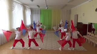 Фестиваль танца Маленькие звездочки 2016 г Танец Широка страна моя родная