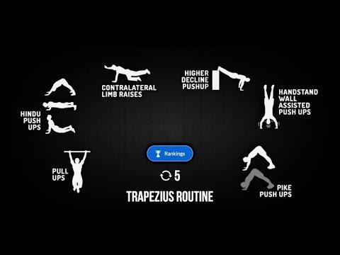 Madbarz Routine Trapezius Routine Deutsch Video Bodyweight ...