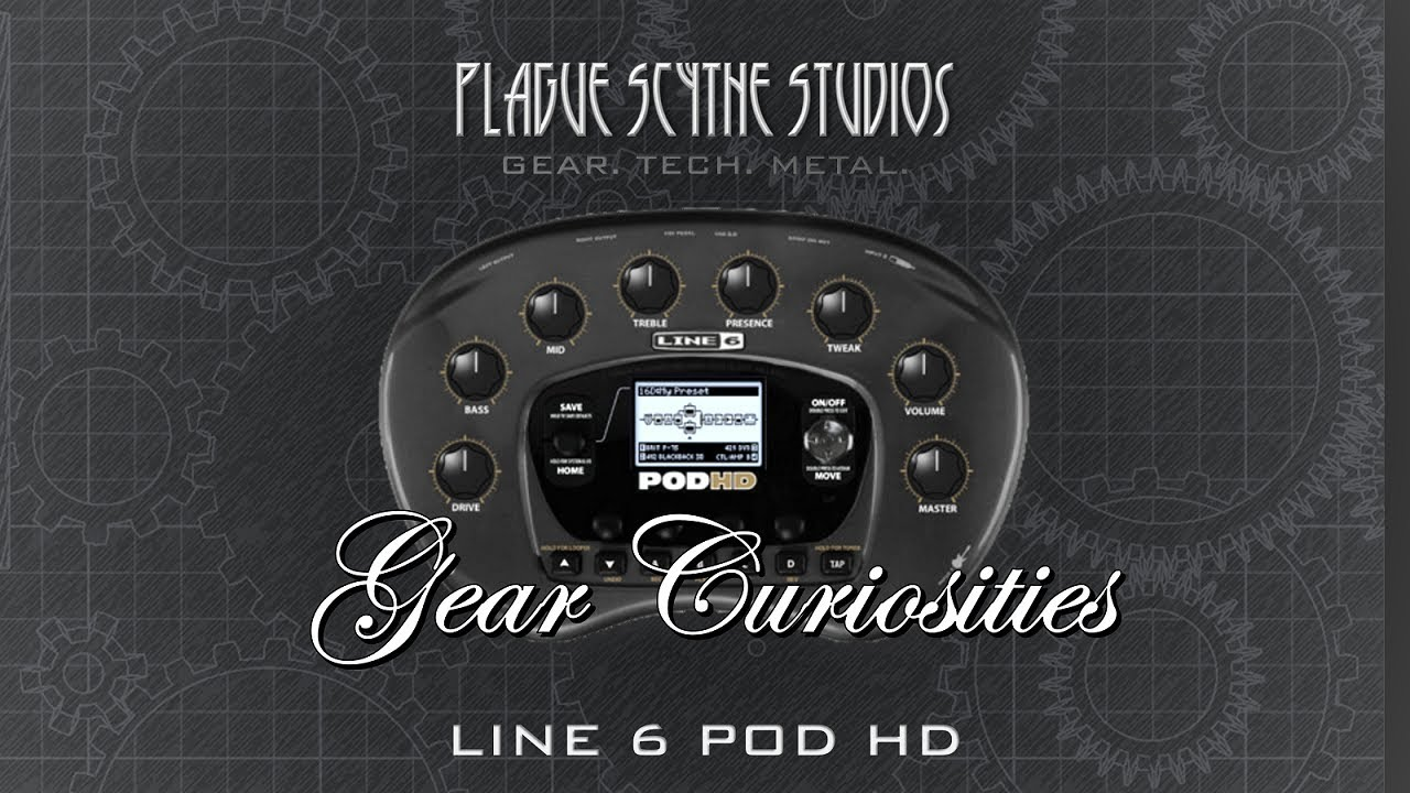 Gear Curiosities: Line 6 POD HD - The End of an Era!
