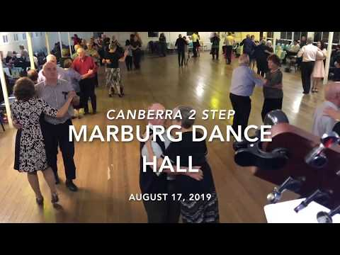 Canberra 2 Step With Cloud 9 At Marburg Dance Hall.  August 17, 2019