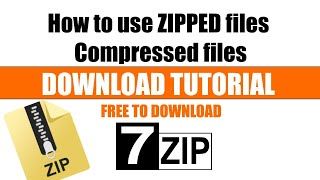 how to use 7zip to extract files - how to extract file 7zip (.7z) in computer easy !