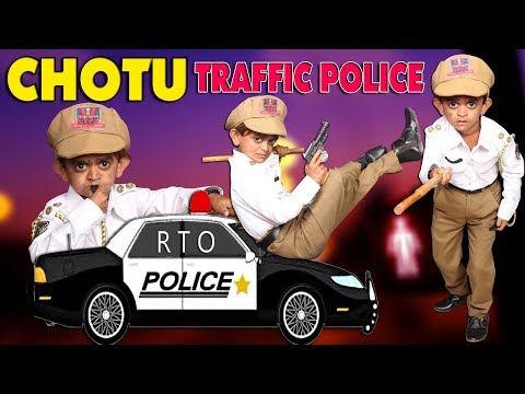 CHOTU TRAFFIC POLICE || Khandesh Comedy Video