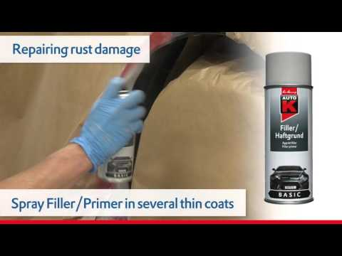 How do I repair a rusted through area on a car – repairing rust damage – Auto-K
