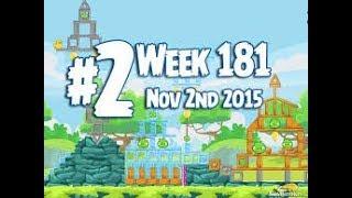 Angry Birds Friends Tournament Level 2 Week 181 Power Up Highscore Walkthrough