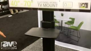 CEDIA 2016: Kanto Displays MTMA Mobile TV Mount