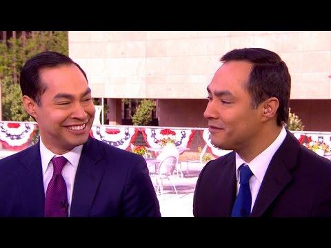 Julián and Joaquín Castro on Democratic Party unity, winning Latino vote