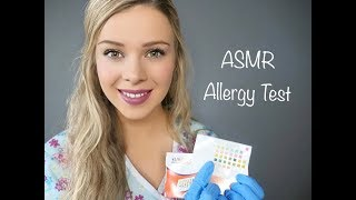 An ASMR role play featuring an allergy skin test and consultation/e...