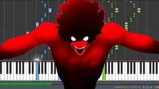 Devilman No Uta Devilman Crybaby 2018 Theme Piano Synthesia.mp3
