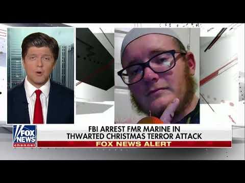 FBI Arrests Former Marine In Thwarted Christmas Attack