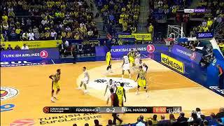 Fenerbahçe Beko 65-63 Real Madrid ?(Türkçe Spiker)