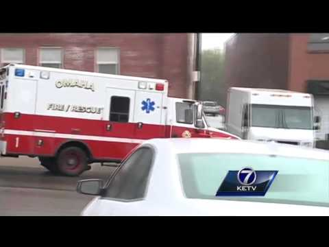 Shooting victim found outside Omaha high school
