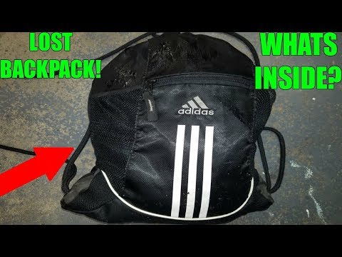 LOST BACKPACK FOUND!! WHATS INSIDE??? River Treasure Hunting!