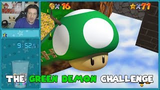 A Speedrunner Does The Green Demon Challenge (All Stages)