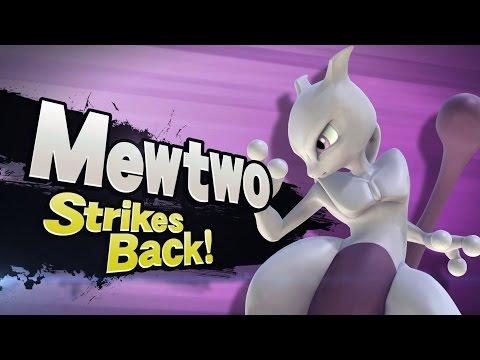 Mewtwo Strikes Back -Super Smash Bros 4 Wii U &3DS (Live Reaction)