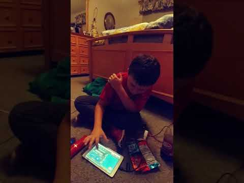 Little boy singing a song # 2