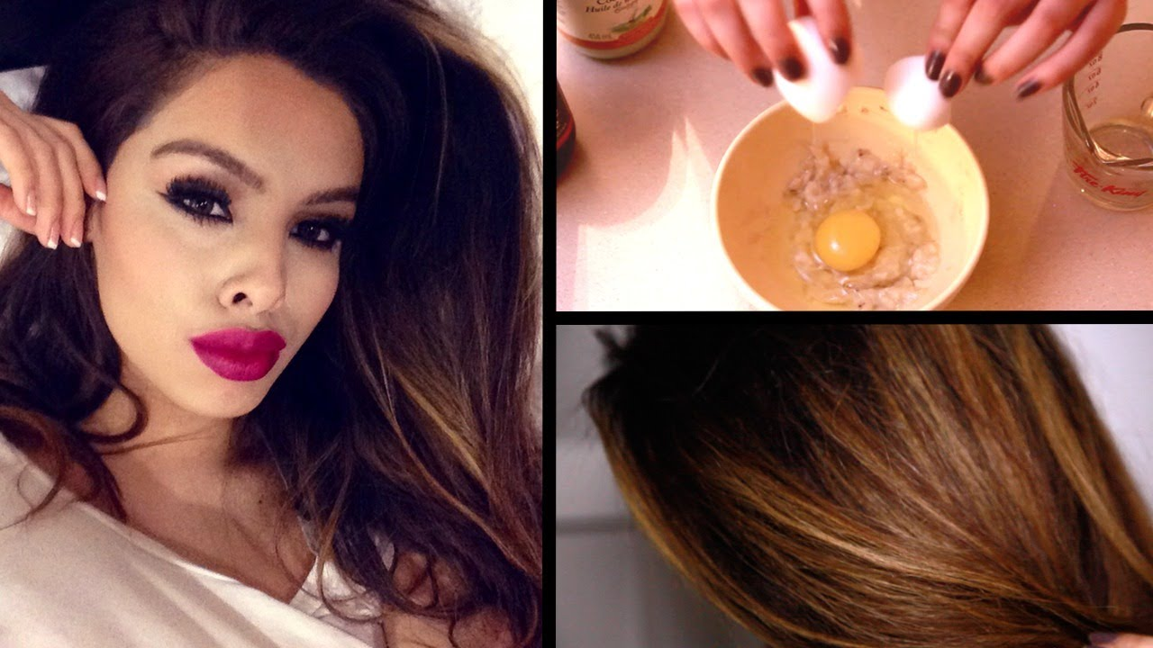 Diy Hair Mask For Dry Damaged Hair Faster Growth Youtube
