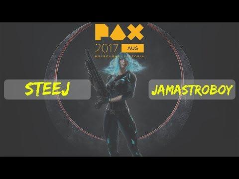 Steej vs JAMastroboy  | Quake Champions | PAX Australia 2017 | Showcase