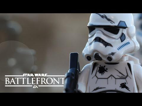 LEGO Star Wars - Battlefront Gameplay ! (BrickFilm)