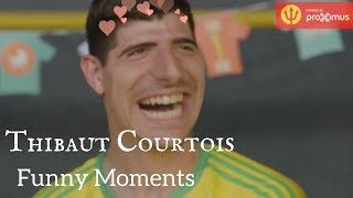 THIBAUT COURTOIS FUNNY MOMENTS ( Chelsea FC & Belgian Red Devils )
