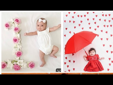 Diy Baby Photography Ideas With Simple And Easy Things At Home Youtube