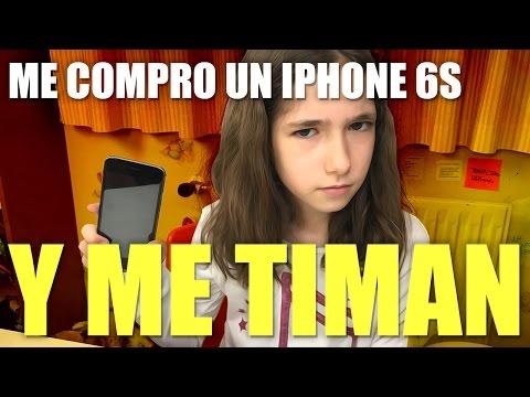 ME COMPRO UN IPHONE 6S Y ME TIMAN