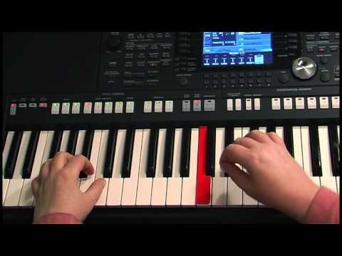 Уроки игры на синтезаторе - видео онлайн