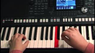 Самоучитель игры на синтезаторе. Урок 5. Автоаккомпанемент. Использование стилей.