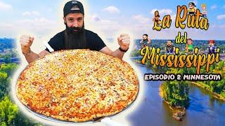 LA PIZZA DE 30 PULGADAS EN MINNESOTA - La Ruta del Misisipi Episodio 2