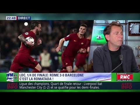 After Foot du mardi 10/04 – Partie 1/4 - Débrief de Rome/Barcelone (3-0)