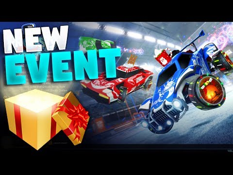 New Frosty Fest Event 2018 On Rocket League (Golden Gift Crate!) thumbnail