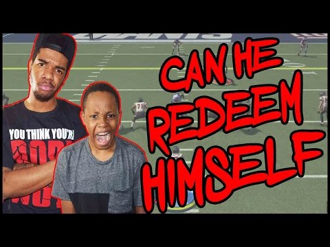 CAN TRENT REDEEM HIMSELF?! - MADDEN 16 PS4 GAMEPLAY