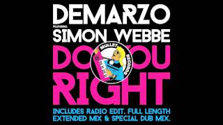 DeMarzo feat. Simon Webbe - Do You Right (Radio Edit) • (Preview)