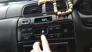 Nissan A32 cefiro qish holati bo'yicha pechka belgilash ...