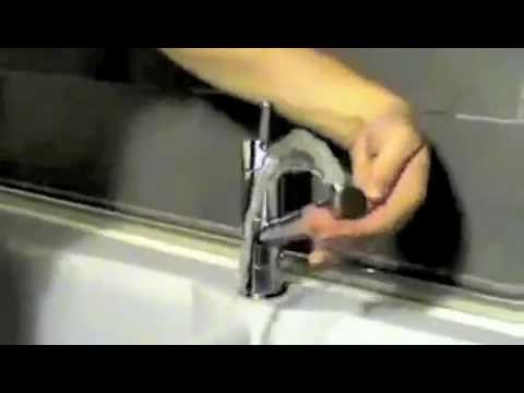 Installazione miscelatore rubinetto Franke - YouTube