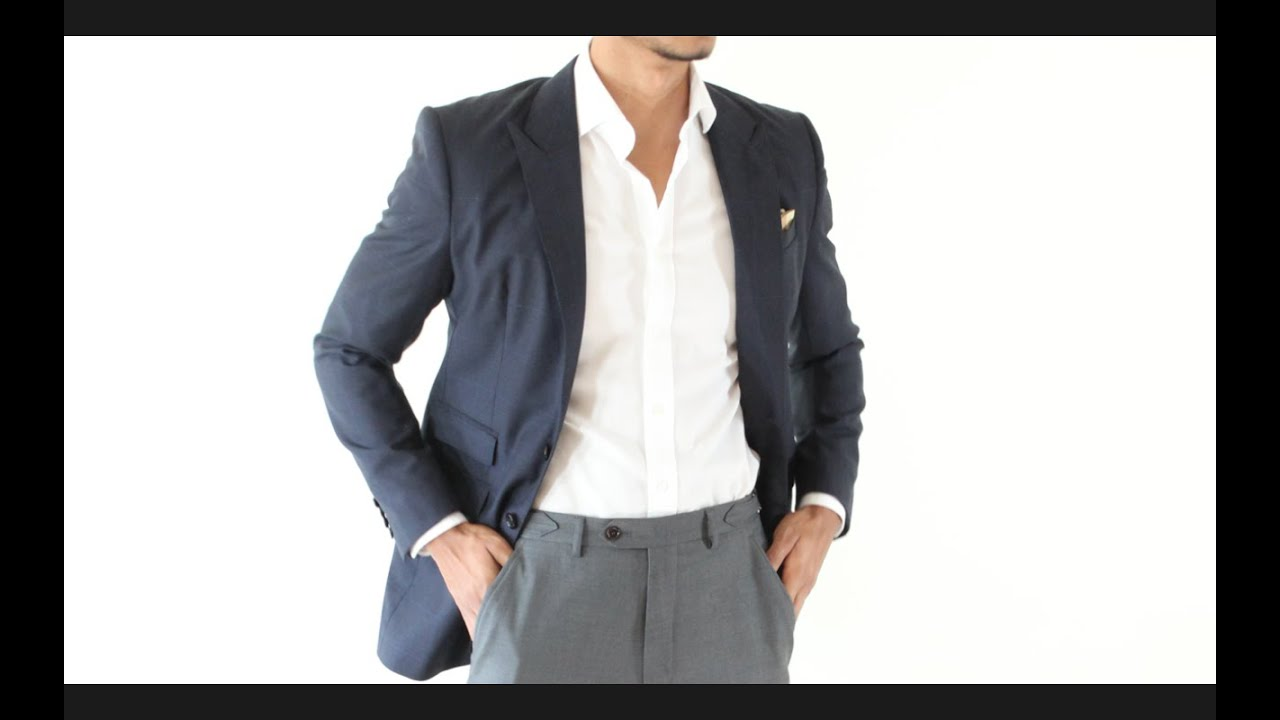How to Wear a Suit Jacket as a Blazer? - YouTube