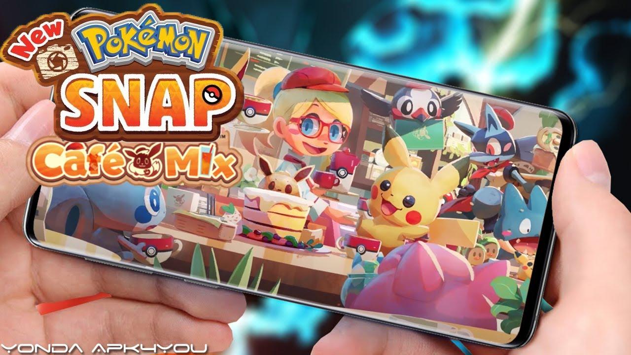 New Pokemon Games! Pokemon Snap, Pokemon Cafe Mix - Android IOS Switch  Gameplay - YouTube