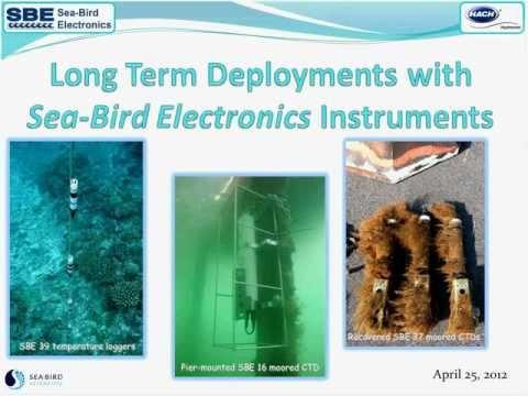 Long-Term Deployment with Sea-Bird Electronics Webinar