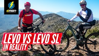 Specialized Levo Vs Levo Sl | Power Vs Agility