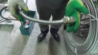 видео газовый шланг из нержавейки