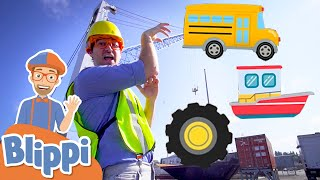 Learning Vehicles & Construction With Blippi + More Blippi Full Episodes | Educational Videos