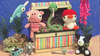 Book Preview: Amigurumi Toy Box
