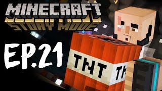Minecraft Story Mode - Эпизод 8 - СПЛИФ АРЕНА