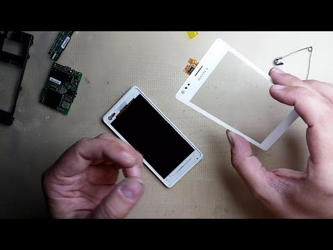 Cambio TouchScreen Pantalla Sony Ericsson Xperia M C1905