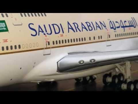 JC Wings 200 Saudi Arabian/Saudia B747-400 Review