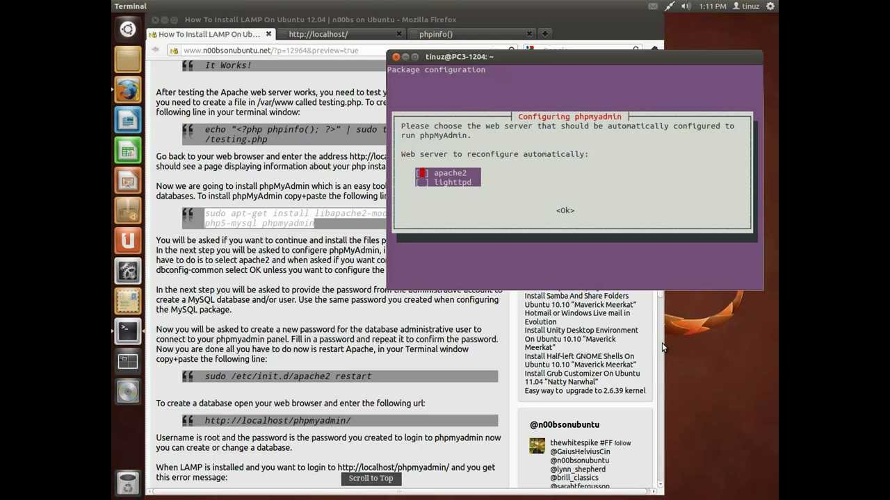 lamp ubuntu 12.10