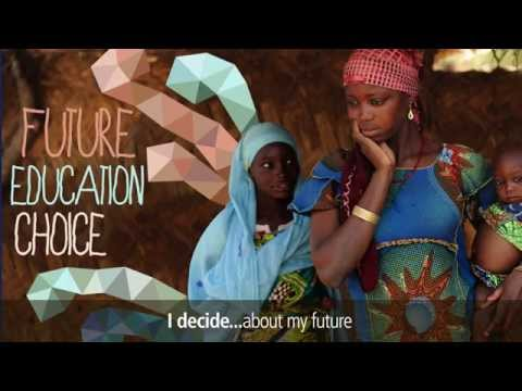 """""""I decide my future"""" - Sexual and Reproductive Health and Rights"""