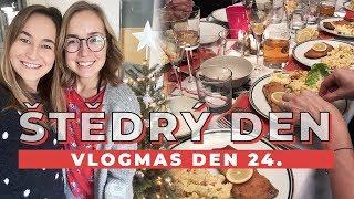 VLOGMAS DEN 24. | Štědrý den s rodinou!